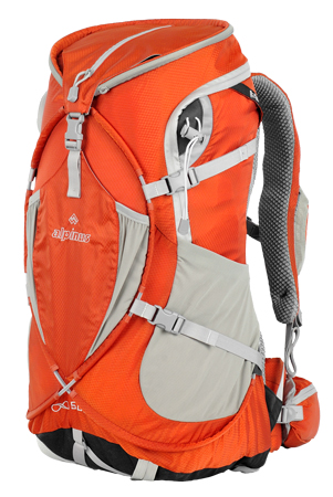Alpinus, plecak z serii OXO, 50 l