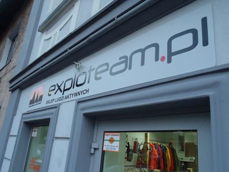 Sklep Exploteam.pl w Będzinie (fot. Exploteam.pl)