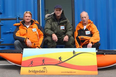 Sir Ranulph Fiennes przed wyprawą na Antarktydę