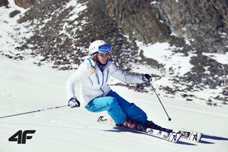 Zimowa kolekcja marki 4F (fot. Bart Pogoda/ Agencję AF Photo)