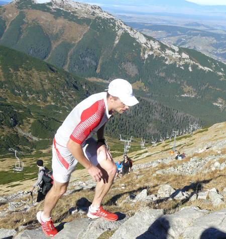 Polartec® Alpin Sport Tatrzański Bieg Pod Górę - Piotr Hercog z Salomon Suunto Team (fot. 4outdoor.pl)