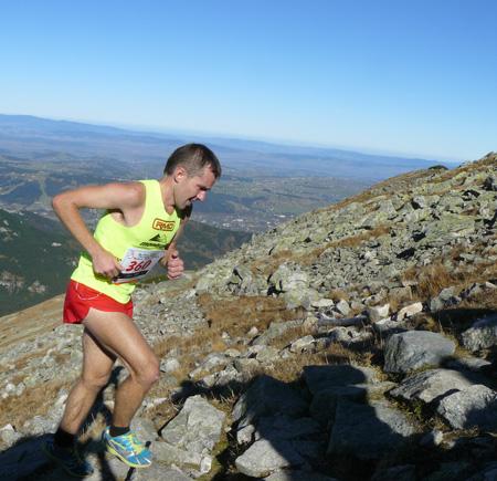 Polartec® Alpin Sport Tatrzański Bieg Pod Górę 2012 - Daniel Wosik, miejsce drugie, z czasem 51:30 (fot. 4outdoor.pl)