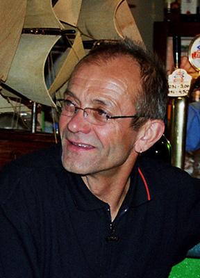 Janusz Nabrdalik w Lądku Zdroju - 2004 rok (fot. Janusz Kurczab)