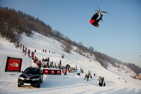 The North Face Polish Freeskiing Open 2012: Rico Schuler (fot. Tomek Gola/fikcja.pl)