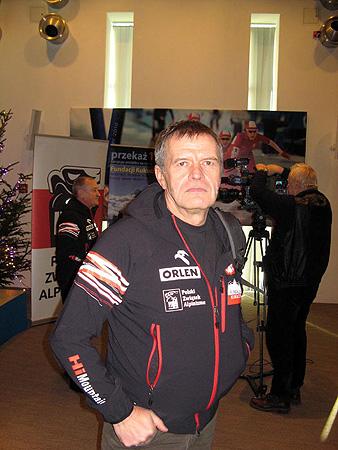 Maciej Berbeka był dotychczas najbliżej wierzchołka BP zimą (fot. Janusz Kurczab)