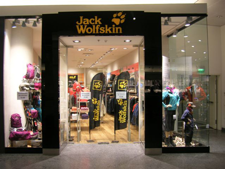 Jack Wolfskin Store w Warszawie - Złote Tarasy