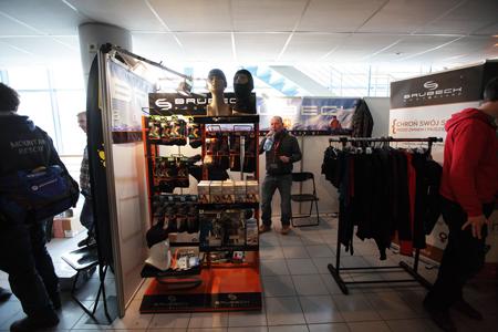 Kiermasz odzieży i sprzętu outdoorowego na 10. KFG – stoisko marki Brubeck (fot. Adam Kokot/KFG)
