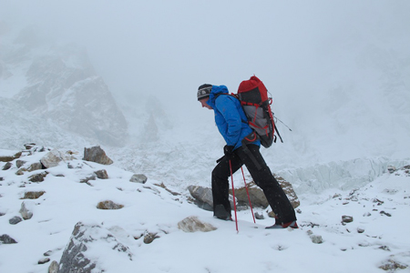 The North Face, buty Verto S6K Glacier GTX w akcji