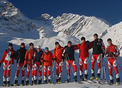 Polska Reprezentacja w Skialpinizmie na Mistrzostwa Świata 2013