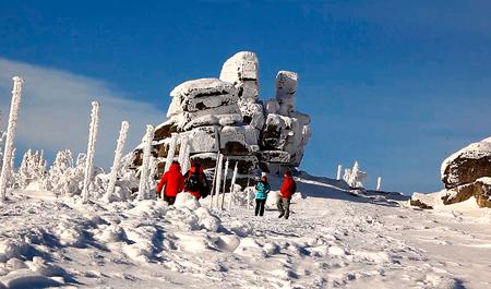Zimowe szlaki turystyczne w Karkonoszach (fot. Karkonosze)