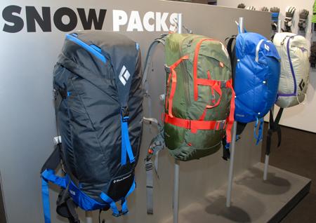 ISPO MUNICH 2013: nowa kolekcja plecaków marki Black Diamond (fot. 4outdoor)