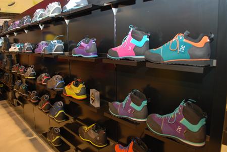 ISPO MUNICH 2013: marka Haglofs nie rezygnuje także z kolorów w swoich modelach butów (fot. 4outdoor)