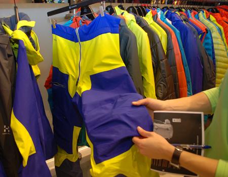ISPO MUNICH 2013: spodnie Roc Hard BIB marki Haglofs (fot. 4outdoor)