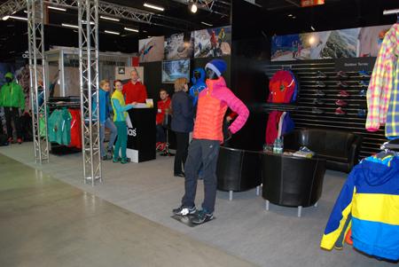 Targi Kielce Sport-Zima 2013 - stoisko marki adidas (fot. 4outdoor)