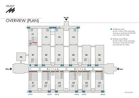 ISPO MUNICH 2013 - plan pomieszczeń konferencyjnych