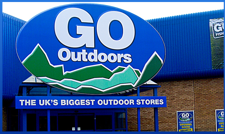 Sklep Go Outdoors (fot. Go Outdoors)