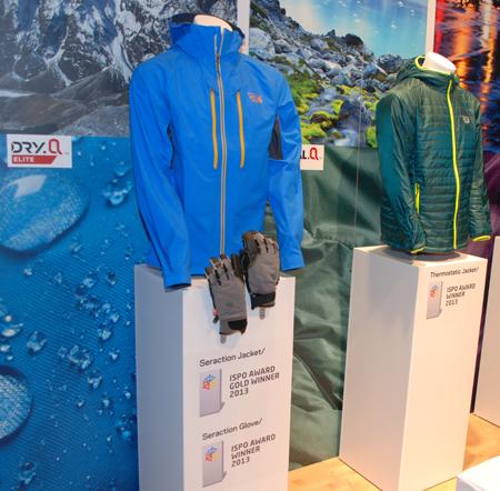 ISPO MUNICH 2013: nagrodzone produkty marki Mountain Hardwear (fot. 4outdoor)
