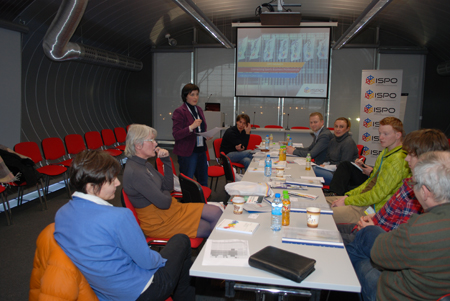 Targi Kielce Sport-Zima 2013 - spotkanie w sprawie projektu Polish Down Village (fot. 4outdoor)