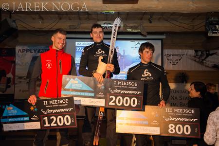 VIII Polar Sport Skitour im. Basi German - najlepsi wśród mężczyzn (fot. Jarek Noga)