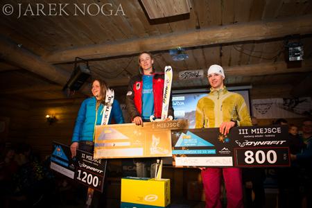 VIII Polar Sport Skitour im. Basi German - najlepsze wśród kobiet (fot. Jarek Noga)