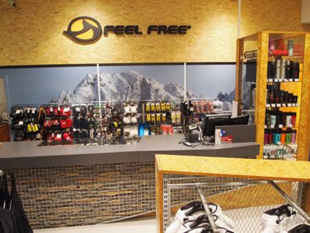 Nowa aranżacja sklepu Feel Free w Warszawie (fot. PPH Konimpex-Plus)
