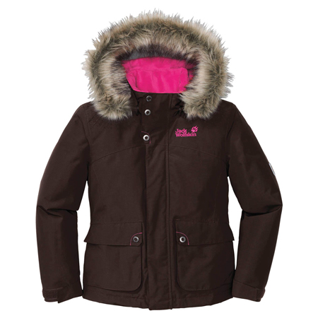 Jack Wolfskin, kurtka Girls Iowa Jacket
