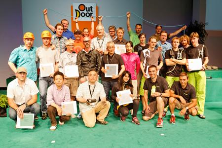 OutDoor Industry Award 2012 - zwycięzcy nagrody GOLD Award (fot. Messe Friedrichshafen)