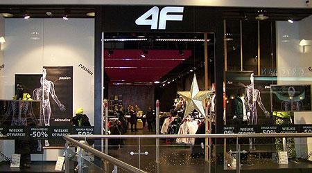 4F sklep w Focus Mall (fot. 4F)