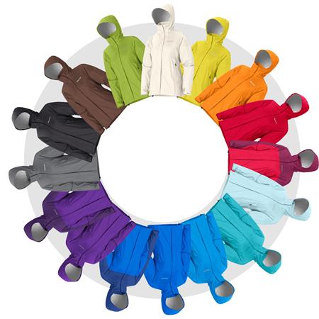 Marmot, 16 kolorów damskiego modelu kurtki PreCip