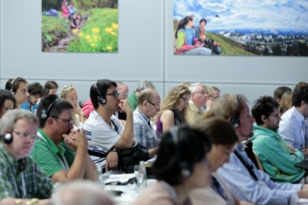 OutDoor 2013 - konferencja (fot. Messe Friedrichshafen)