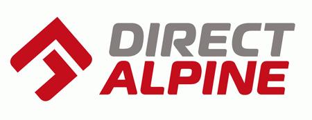 Logo marki Directalpine, obowiązujące od sezonu wiosna/lato 2014