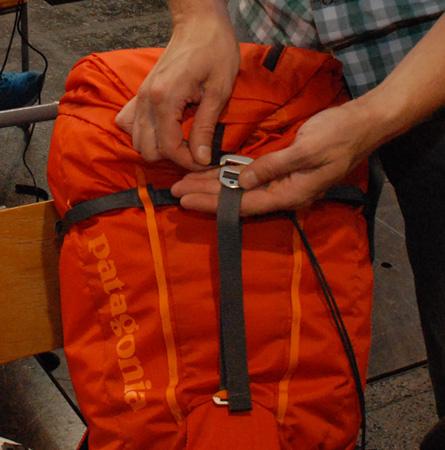 Patagonia, zamknięcie plecaka Ascensionist Pack