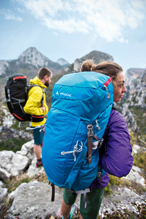 Vaude, kolekcja plecaków na sezon wiosna/lato 2014