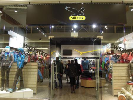 Kolejny sklep SALEWA Mountain Shop już otwarty