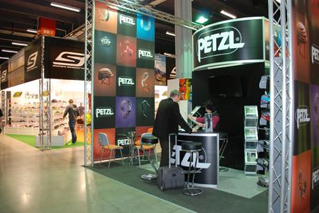 Targi Kielce Sport-Zima 2013 - stoisko marki Petzl (fot. 4outdoor)