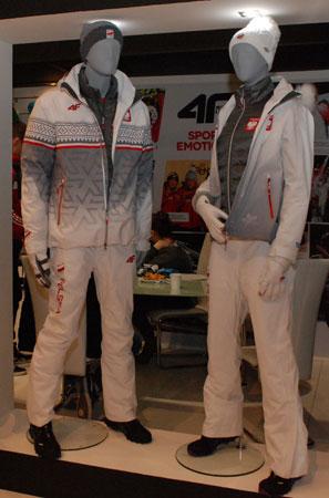 Targi Kielce Sport-Zima 2014 - kolekcja olimpijska marki 4F na Targach Kielce (fot. 4outdoor)