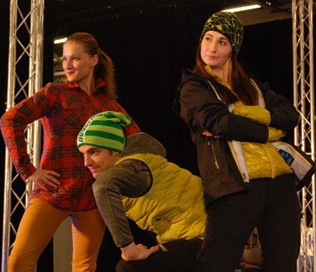 Targi Kielce Sport-Zima 2014 - pokaz nowości marki Berg Outdoor (fot. 4outdoor.pl)