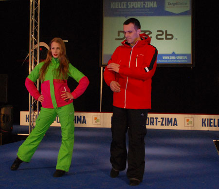 Targi Kielce Sport-Zima 2014 - pokaz nowości marki Dare2B (fot. 4outdoor.pl)