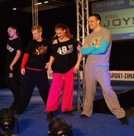 Targi Kielce Sport-Zima 2014 - kolekcja 48,5 Feel Joy na pokazie mody (fot. 4outdoor)