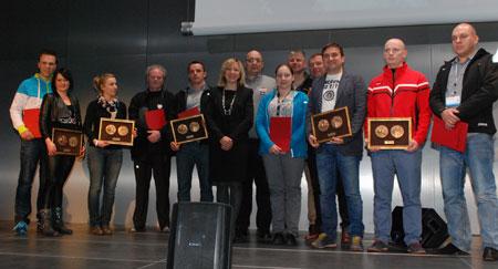 Targi Kielce Sport Zima 2014 - nagrodzeni medalami i wyróżnieniami Targów Kielce (fot. 4outdoor)