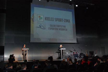 Targi Kielce Sport-Zima 2014 - gala wręczenia nagród w Sali Konferencyjnej OMEGA (fot. 4outdoor)