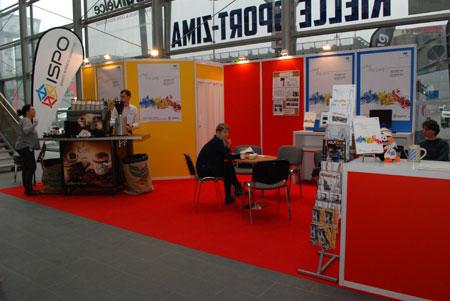 Targi Kielce Sport-Zima 2014 - stoisko targów ISPO MUNICH (fot. 4outdoor)