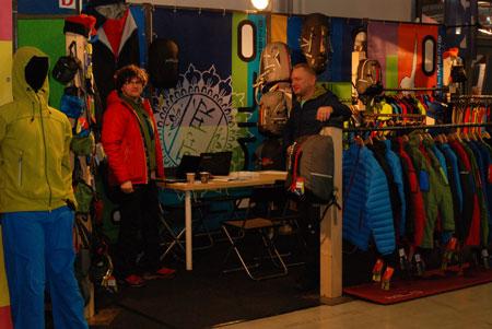 Targi Kielce Sport-Zima 2014 - stoisko marki Milo (fot. 4outdoor)