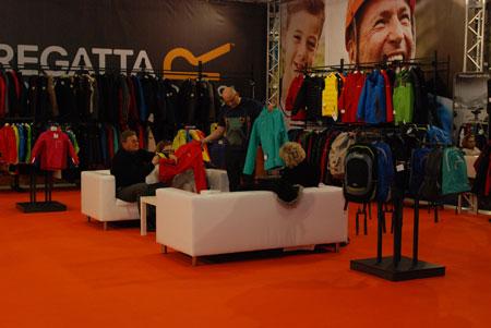 Targi Kielce Sport-Zima 2014 - stoisko marek Regatta i Dare2b (fot. 4outdoor)