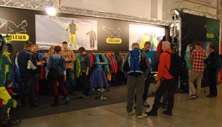 Targi Kielce Sport-Zima 2014 - stoisko marki Salewa (fot. 4outdoor)