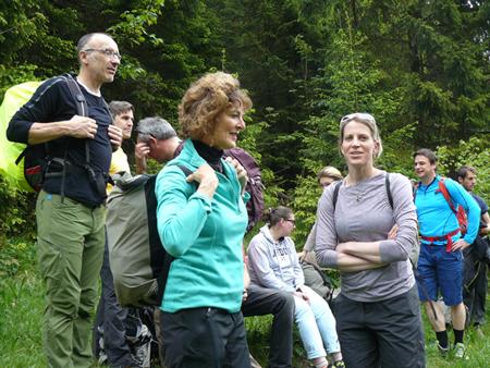 Dziennikarze podczas hikingu (fot. 4outdoor)