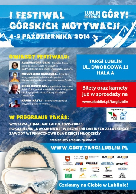 Targi Górskich Motywacji, Lublin 2014, plakat