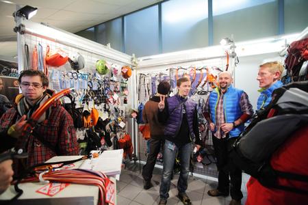 Kiermasz odzieży i sprzętu outdoorowego na 10. KFG – stoisko firmy Namaste i marek: CAMP, Cassi, Gregory i (fot. Adam Kokot/KFG)