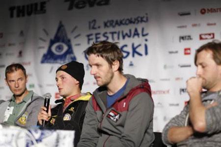 KFG 2014, Andrzej Bargiel z kompanami (fot. Wojciech Lembryk)