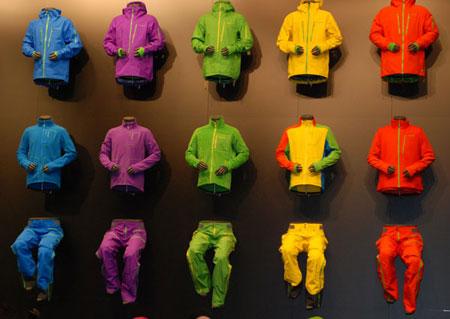 Kolekcja marki Norrona na targach ISPO Mucnih 2014 (fot. 4outdoor Biznes)